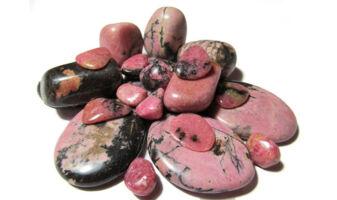 rodonit ásvány karkötő